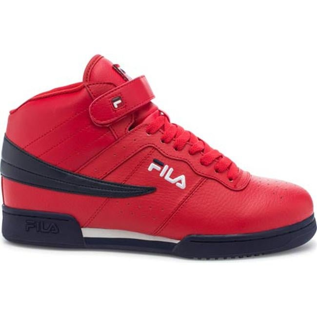 6e25dc2ea4 Shop Fila Men's F13 Fila Red/Fila Navy/White - On Sale - Free Shipping  Today - Overstock - 12735162