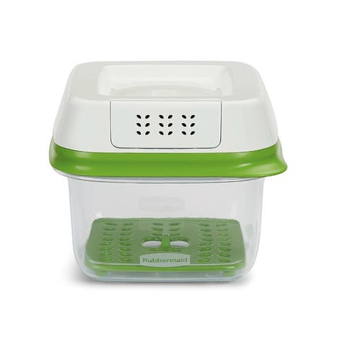 Rubbermaid 1920480 FreshWorks Green Produce Saver, Small