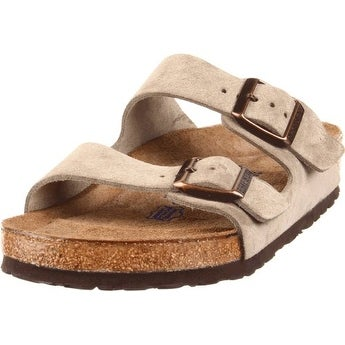 Birkenstock Arizona Sandal Taupe Suede High Arch Size 41N