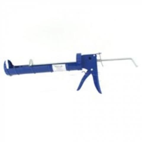 "Mintcraft CT-314P Smooth Rod Caulk Gun 1/4 Gallon, 13"" Length, Blue"