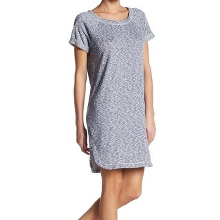Max Studio Weekend NEW Blue Womens Size Small S Marled Tunic Dress