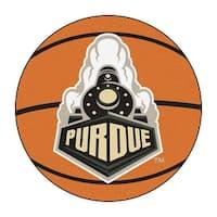 Purdue University Boilermakers Basketball Area Rug