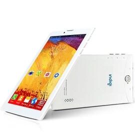 "Indigi® 7.0"" 3G Unlocked 2-in-1 DualSIM SmartPhone + TabletPC Android 4.4 KitKat w/ WiFi + Bluetooth Sync (White)"