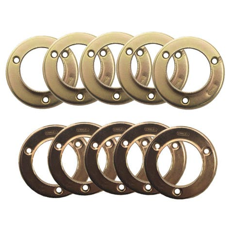 Design House 182766 Steel Closet Pole Sockets -