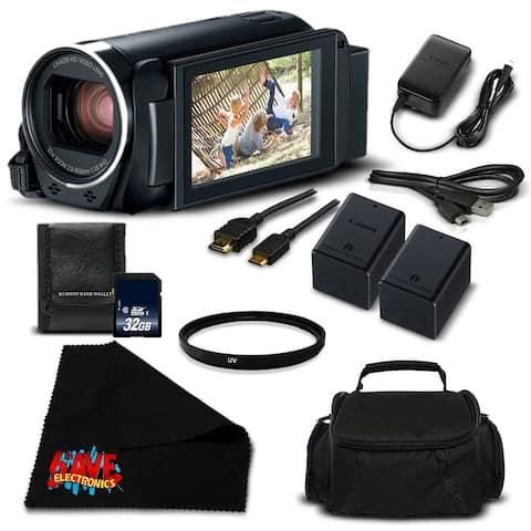 Canon VIXIA HF R800 Camcorder (Black) Full HD 1080p - Silver Level