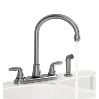 American Standard 9316451.075 Jocelyn High ARC Two Handle Kitchen Faucet With Side Spray