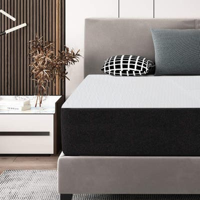 12 Inch Memory Foam Mattress for a Cool Sleep/ Pressure Relief, Pressure Relieving/ Motion Isolating, Bed-in-a-Box