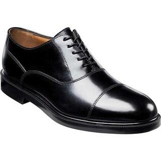 Florsheim Men's Dailey Global Black Leather