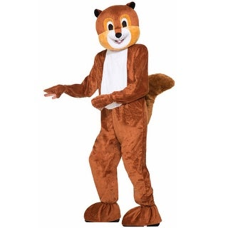 Forum Novelties Scamper the Squirrel Adult Costume - Brown - Standard