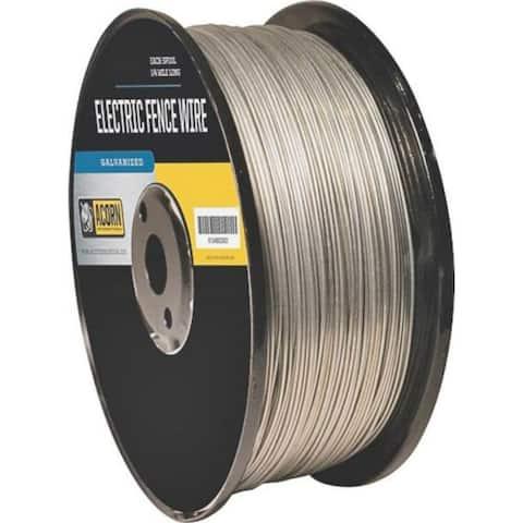 Acorn International EFW1712 Electric Fence Wire, 17 Gauge, 1/2 Mile, Galvanized Steel