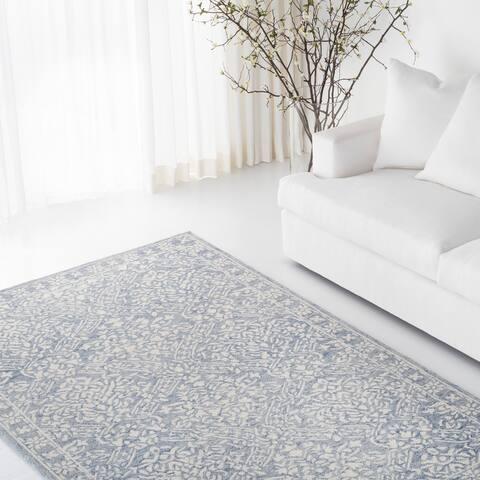 Lauren Ralph Lauren Handmade Olivier Contemporary Floral & Botanical Wool Rug