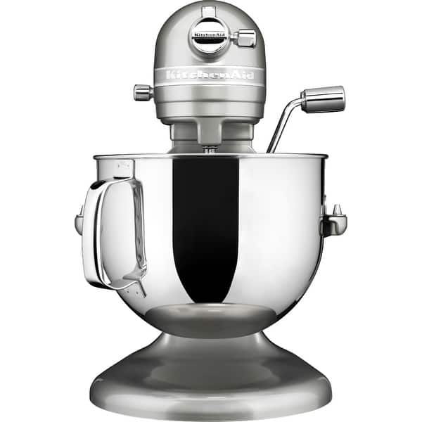 Kitchenaid Ksm7586psr Sugar Pearl Silver 7 Quart Bowl Lift Stand Mixer Overstock 9036210