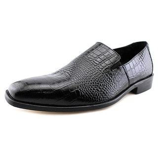 Stacy Adams Galindo Men W Round Toe Leather Black Loafer