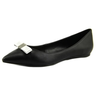 Enzo Angiolini Collay Pointed Toe Synthetic Flats