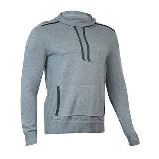 INC International Concepts Men's Funnel-Neck Sweater (Heather Grey, M)
