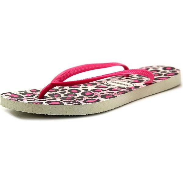 Havaianas Slim Animals Open Toe Synthetic Flip Flop Sandal