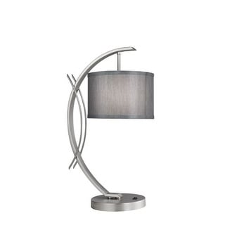 Woodbridge Lighting 13481STN-S10802 1 Light Table Lamp from the Eclipse Collecti