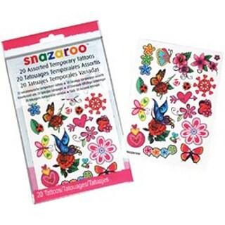 Girls - Snazaroo Temporary Tattoos 20/Pkg