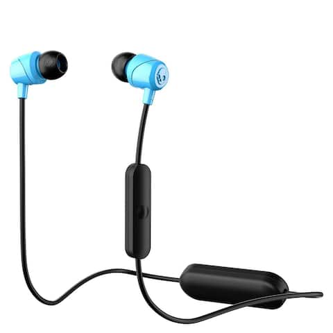 Skullcandy Bluetooth Wireless JIB In-Ear Earbuds with Mic Blue - 3.2 x 0.9 x 7.3