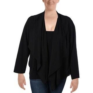 Love Scarlett Womens Blazer Open Front Long Sleeves