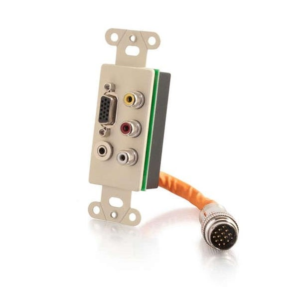 RapidRun Integrated VGA HD15 Plus 3.5 mm Plus Composite Video Plus