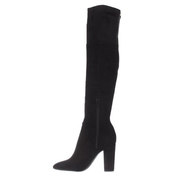 Ivanka Trump Womens Rylee Almond Toe Over Knee Fashion Boots