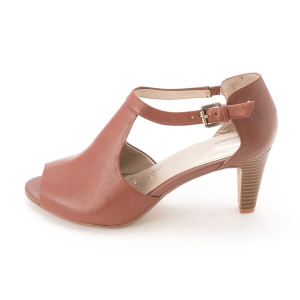 Giani Bernini Womens GERTEE Leather Open Toe Casual