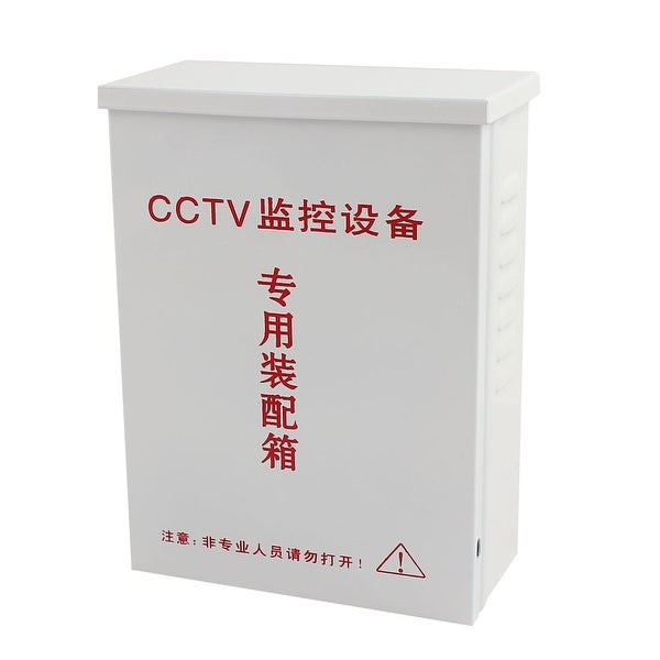 180mm x 135mm x 70mm Waterproof Iron Assembly Box Gray for CCTV Security Camera