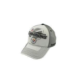 Reebok Mens Steelers Ball Cap Conference Champions 2010 - o s 9235102acb3