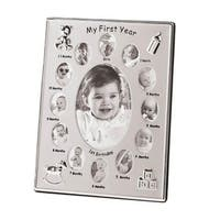Zingz & Thingz 57070511 Baby's First Year Photo Frame