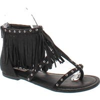 Not Rated Womens Xenia Fashion Fringe Sandals