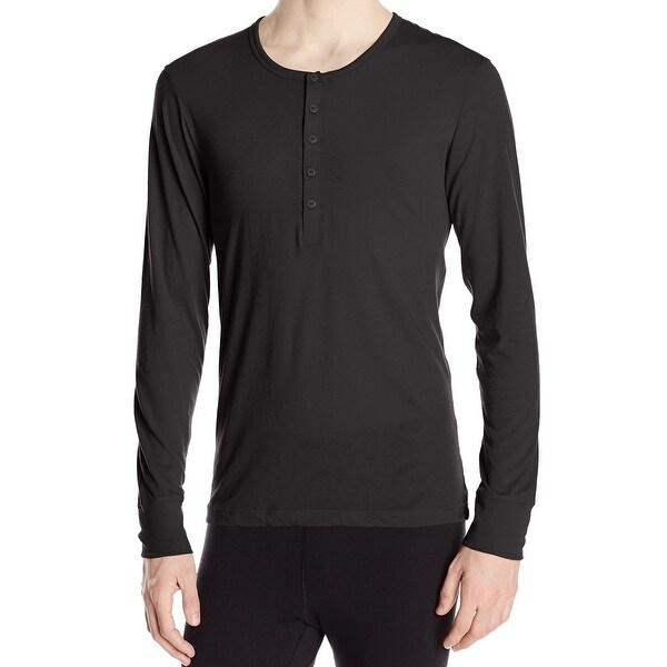 2bc58766 Shop 2XIST NEW Black Mens XL Tartan Placket Tech Long Sleeve Henley Shirt -  Free Shipping On Orders Over $45 - Overstock - 19504385