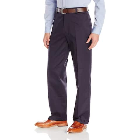 Dockers Men's Pants Gray Size 40X30 Relaxed Fit Khakis Pinstriped