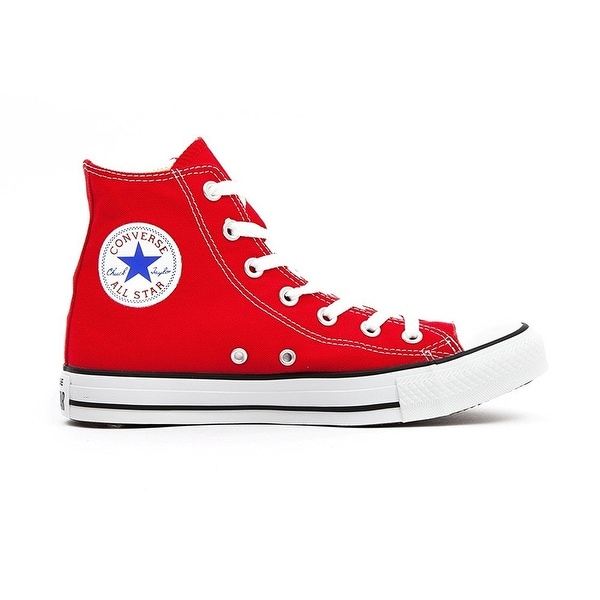 b670299fe846 Shop Converse Chuck Taylor All Star HI Sneakers Red Mens 6 Womens 8 ...