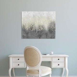 Easy Art Prints Jennifer Goldberger's 'Glitter Swirl I' Premium Canvas Art