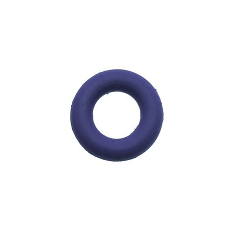 Rubber O-Ring Jump Ring Spacers 7.25mm Diameter - Cobalt Blue (10)