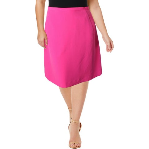 Kasper Womens Mini Skirt Knit A-Line
