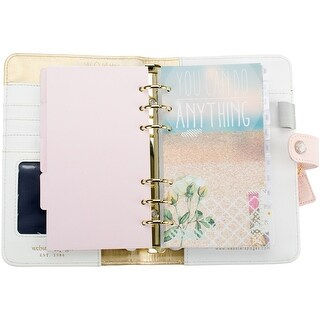 """Color Crush Faux Leather Personal Planner Kit 5.25""""X8"""""""