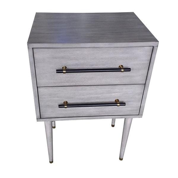 Leesgate 2 Drawer Side Table