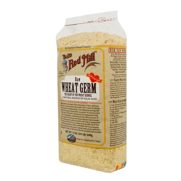 Bob's Red Mill Wheat Germ - 12 oz - Case of 4 - 2 Pack