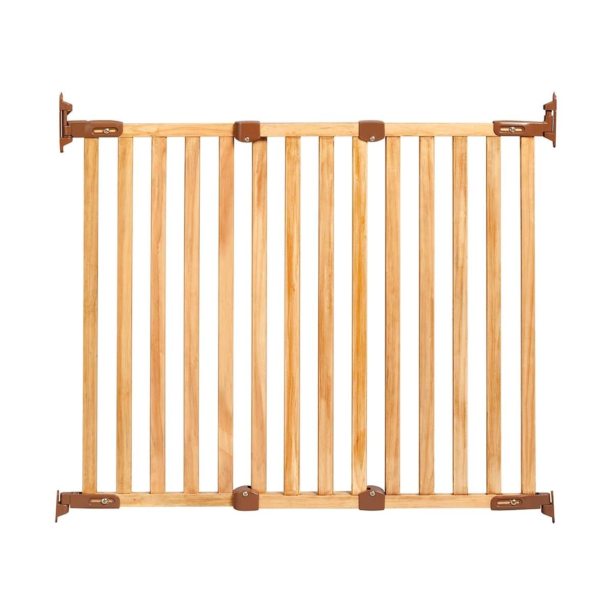 "43/"" x 31/"" Kidco Angle Mount Wood Safeway Wall Mounted Pet Gate Cherry 28.5/"""