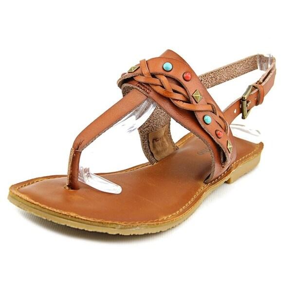Zigi Soho Bevelyn Women Open Toe Synthetic Tan Thong Sandal