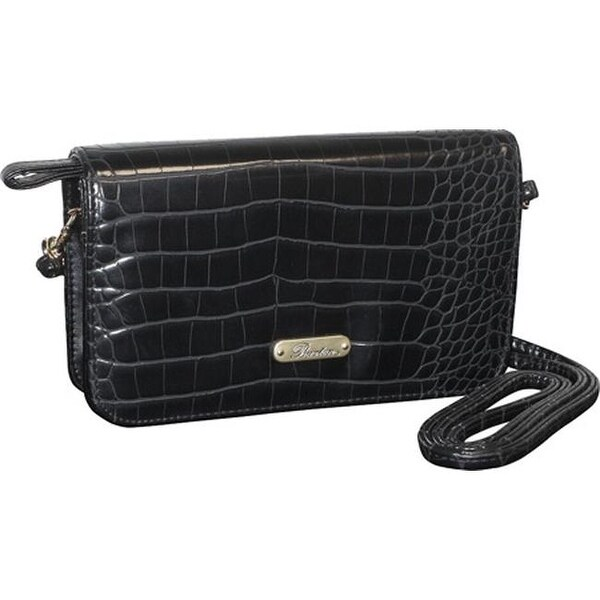 Shop Buxton Women s Nile Exotics Crossbody Mini Bag Black - US Women s One  Size (Size None) - Free Shipping On Orders Over  45 - Overstock.com -  17905024 caef72bf1ffab