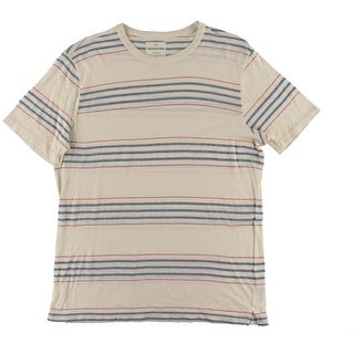 Splendid Mens T-Shirt Modal Striped - L
