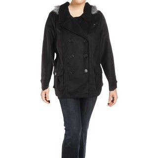 Urban Republic Womens Juniors Pea Coat Double Breasted Winter