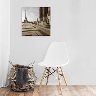 Easy Art Prints Alan Blaustein's 'Tour Eiffel #10' Premium Canvas Art