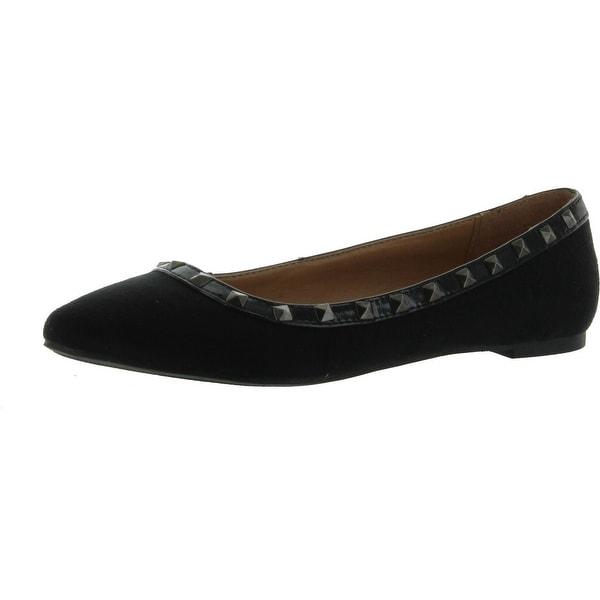 City Classified Women Money Flats-Shoes - black isu