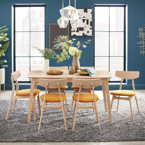 Simple Living Solid Beechwood Cadiz 7-piece Dining Set