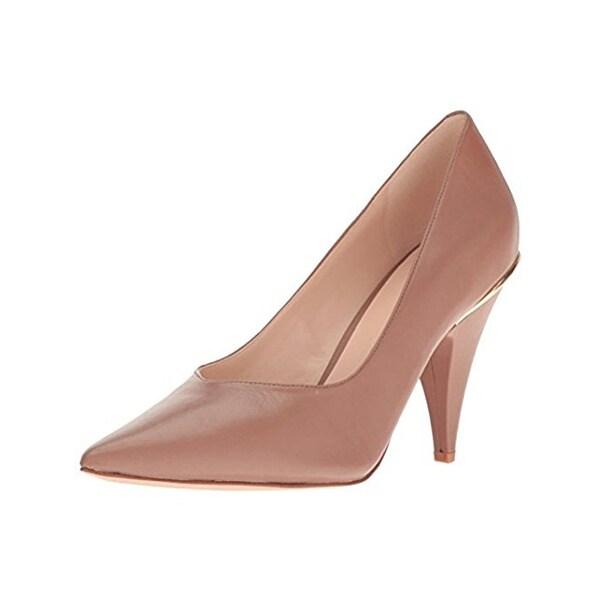 Nine West Womens Whistles Dress Heels Contrast Trim Pointed Toe
