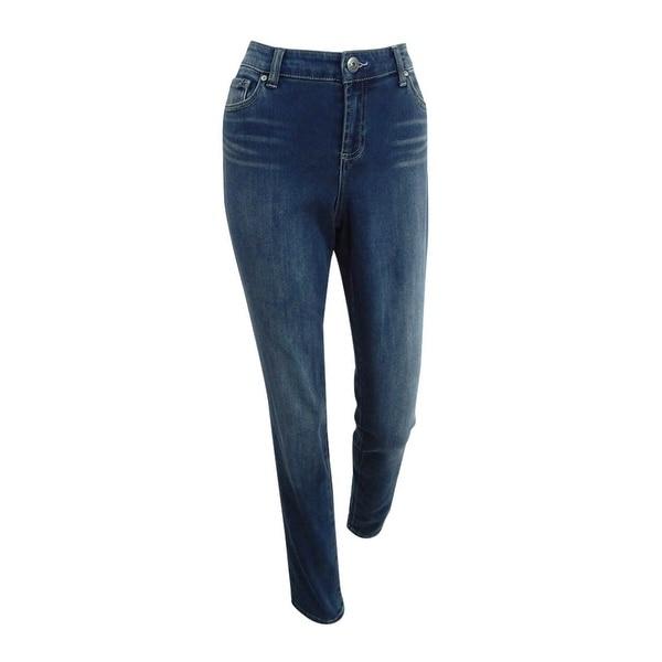 INC International Concepts Women's Skinny Jeans - Beautiful Wash